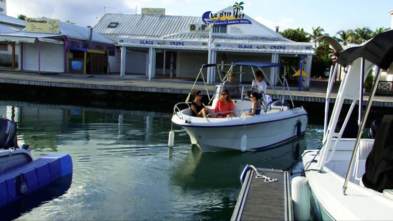 location bateau